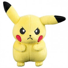Jucarie De Plus Tomy Officially Licensed Pokemon Angry Pikachu 20Cm