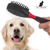 Perie cu Doua Fete pentru Animale de Companie Pet Prior
