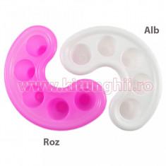 Paleta Acryl unghii - Paletar pentru prepararea culorilor acrilice, Accesorii Unghii
