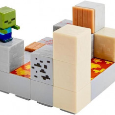 Set Jucarii Minecraft Mini Figure Environment Set Piston Push