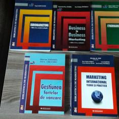 Colectie carti marketing