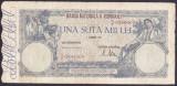 Bancnota Romania 100.000 Lei 21 octombrie 1946 - P58 VF