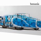 Tablou 3D Lemn Panza (140 x 70 x 7 5 cm) by Homania