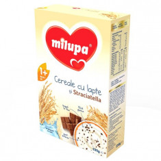 Milupa Cereale Cu Lapte Si Stracciatella, 250G, 12 Luni+