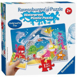 Puzzle Ravensburger Plastic Waterproof Underwater Adventure (12 Pcs)