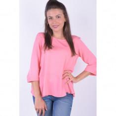 Bluza Vero Moda New Maker Frill 3/4 Salmon Rose, L, M, S, XL, XS, Roz