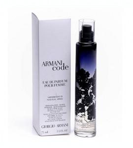 Parfum ARMANI CODE Femme 75 ml - Giorgio Armani    Tester