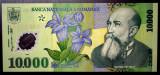 10000 LEI 2000 Polimer, semnatura ISARESCU, UNC NECIRCULATA