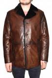 Cojoc barbati, din blana naturala, marca Kurban, A-71-02-95, maro, marime: XL