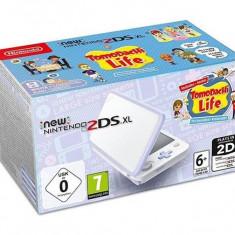 Consola New Nintendo 2Ds White & Lavender + Tomodachi Life