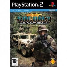 Socom 3 Us Navy Seals Ps2, Sony