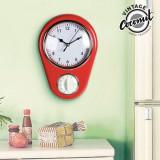 Ceas de Perete cu Cronometru Vintage Coconut