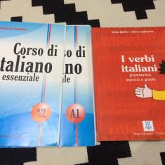 I verbi italiani grammatica esercizi giochi verbe italiene gramatica exercitii, Alta editura, 2004