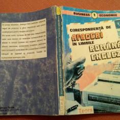 Corespondenta De Afaceri In Limbile Romana Si Engleza - Adriana Chiriacescu, Teora, 1995