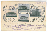 3890 - SALONTA, Bihor, Romania, Litho - old postcard - used - 1916