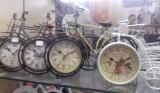 Ceas  Bicicleta  Retro Vintage Metalic Ceas de birou Ceas de masă Ornament