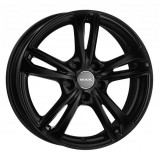 Jante PEUGEOT 1007 7J x 17 Inch 4X108 et25 - Mak Emblema Gloss Black - pret / buc, 7, 4