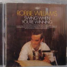 Robbie Williams - Swings When You're Winning, CD