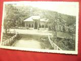 Ilustrata Vulcana-Bai - Parcul judet Dambovita circulat 1937