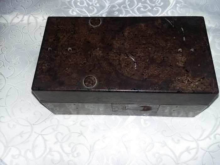 cutie/caseta/carcasa telefon vechi Marina militara,textolit,colectie,Tp.GRATUIT
