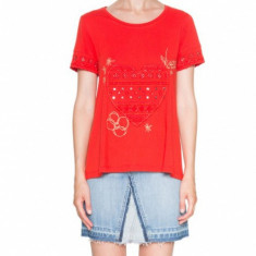 Desigual Bluza dama 109230 Rosu, L, S, XL, XS