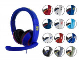 Set Casti Gaming Stereo Subsonic Ps4 Licentiate Albastru