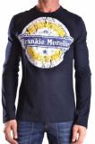 Frankie Morello Pulover barbati 106518 blue, L, M, S, Frankie Morello