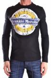 Frankie Morello Tricou barbati 106516 Negru, L, M, S, Frankie Morello