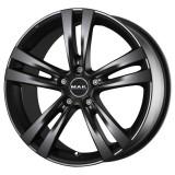 Jante AUDI A6 6.5J x 15 Inch 5X112 et42 - Mak Zenith Mat Black, 6,5