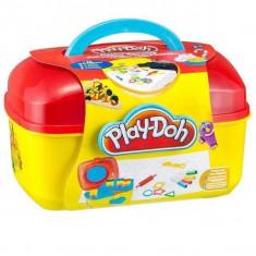 Cutie Creativa Play-Doh cu Plastilina si Elemente de Colorat - My Little Artist, Hasbro