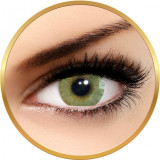 Solotica Hidrocor Mel - lentile de contact colorate verzi lunare - 30 purtari (2 lentile/cutie)