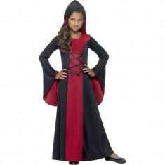 Costumatie Printesa Vampir pentru fetite 10-12 ani - Carnaval24