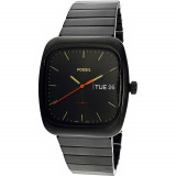 Ceas Fossil barbatesc Rutherford FS5333 negru Stainless-Steel Quartz Fashion