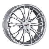 Jante AUDI RS4 8J x 19 Inch 5X112 et21 - Mak Rennen Silver - pret / buc, 8, 5