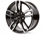 Jante BMW X3 8J x 18 Inch 5X120 et34 - Alutec Drive Diamant-schwarz-frontpoliert - pret / buc, 8, 5