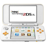 NEW Nintendo 2DS XL Console - White & Orange (EU) /3DS