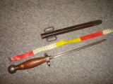 Pumnal/Stilet/Baioneta WW 1 trench art/colectie/militaria/decor/panoplie/Rar