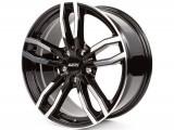 Jante BMW X4 8J x 18 Inch 5X120 et34 - Alutec Drive Diamant-schwarz-frontpoliert - pret / buc, 8, 5