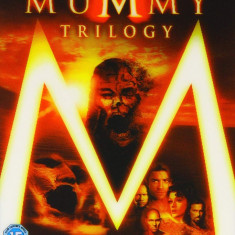 Filme The Mummy 1-4 Quadrilogy [DVD], Engleza, independent productions