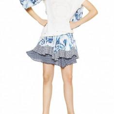 Desigual Bluza dama 109234 Alb, XXL