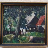 Tablou Paal Albert, Peisaje, Ulei, Impresionism