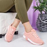 Pantofi sport Herdo roz