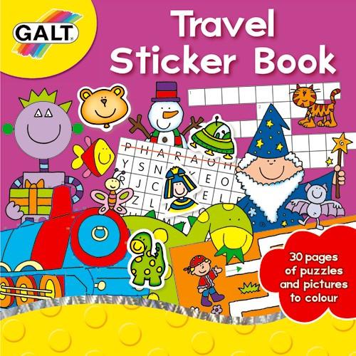 Travel Sticker Book - Carte Activitati cu Abtibilduri pentru Calatorie