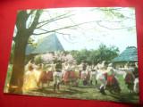Fotografie mare -30x21,5 cm - Dansuri Populare , color