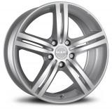 Jante SEAT CORDOBA 8J x 17 Inch 5X100 et35 - Mak Veloce T Silver, 8, 5