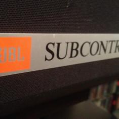 Subwoofer Pasiv  JBL SUBCONTROL 1 - 3000 w - Vintage/Rar/made in USA/Impecabil