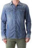 Camasa cu maneca lunga albastra de barbati, Bray Steve Alan, 64196, L