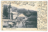 1598 - ZLATNA, Alba, Romania, Market - old postcard - used - 1904