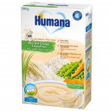 Cereale Humana fara Lapte cu Morcov si Mazare 6 luni+, 200g