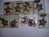 LOT Distinctie/medalie/INSIGNA-FRUNTAS IN INTRECEREA SOCIALISTA,Comuniste,T.GRAT
